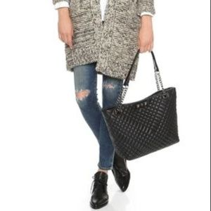 Rebecca Minkoff Lenox Quilted Leather Tote